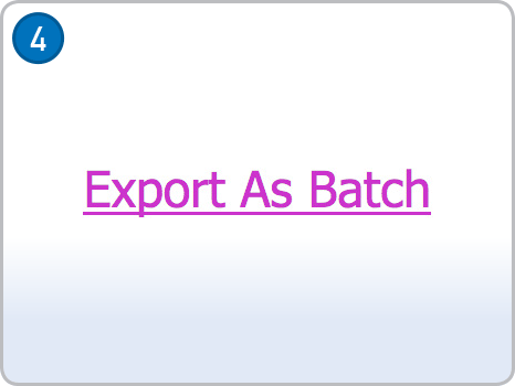 Export As Batch