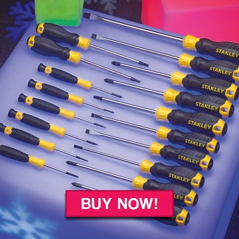 Stanley 18 Piece Essential Screwdriver Set