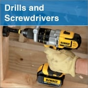 Drills and Screwdrivers