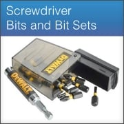 Screwdriver Bits and Bit Holders