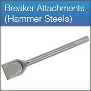 Breaker Attachments (Hammer Steels)