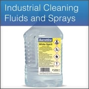 Industrial Cleaning Fluids and Sprays