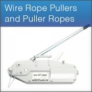Wire Rope Pullers and Puller Ropes