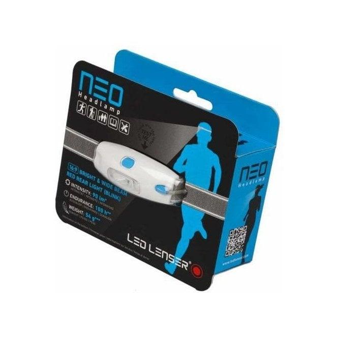 LED Lenser NEO Head Torch (Blue)