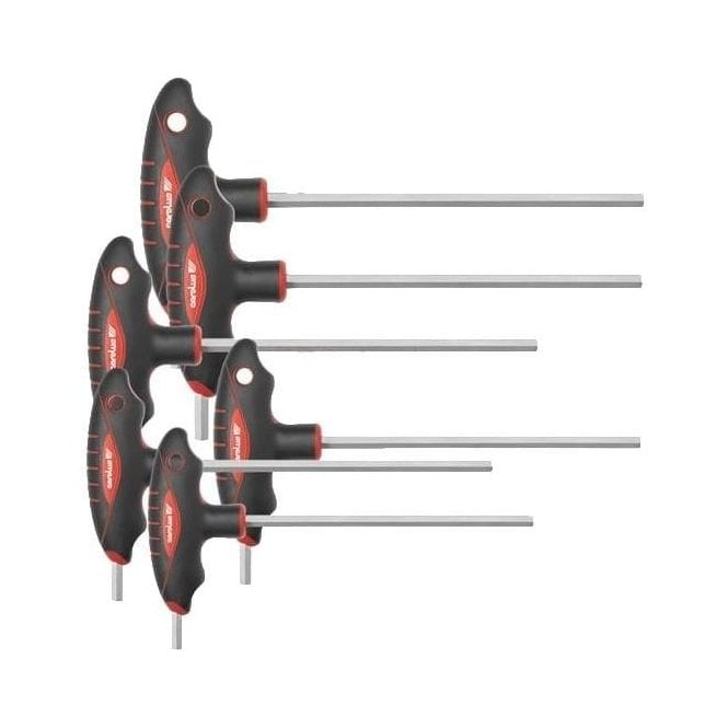 Carolus T-Handle Hexagon Screwdriver Set (6 Piece)