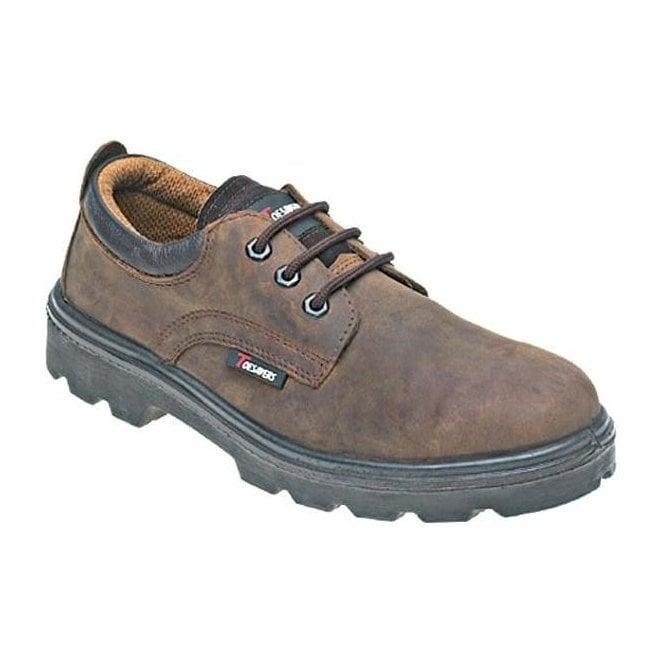 Toesavers Leather 3 Eyelet Safety Shoe (1411)