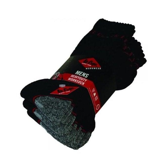 Lee Cooper Heavy Duty Work Sock 603 (5 Pairs)