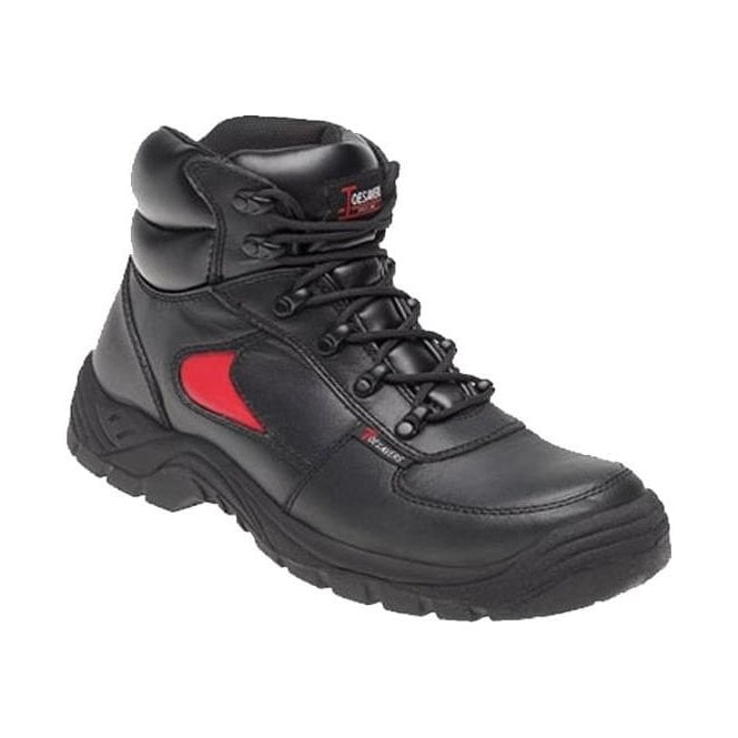 Toesavers Leather Safety Trainer Boot (3414)