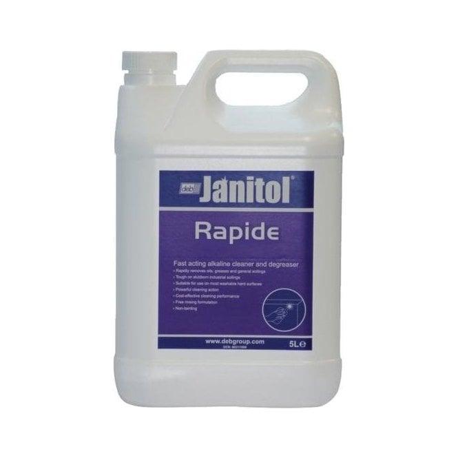 Deb Janitol Rapide Cleaner Degreaser 5ltr