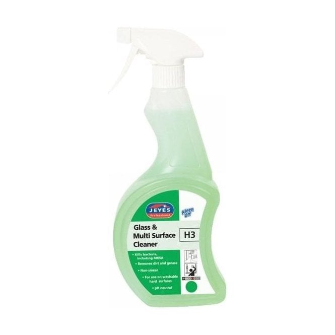 Jeyes H3 Kleenoff Glass and Multi Surface Cleaner 750ml