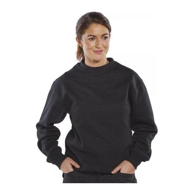 B-Click Polycotton Sweatshirt