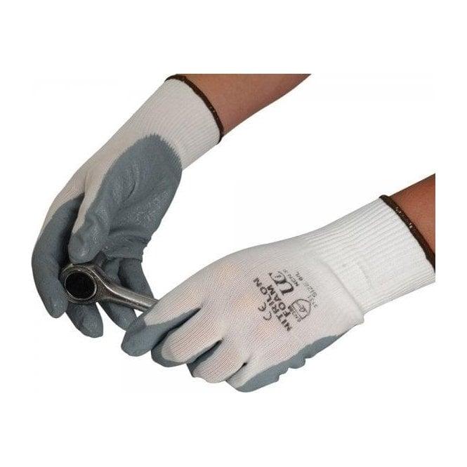 UCI Nitilon NCN-F White / Grey Gloves