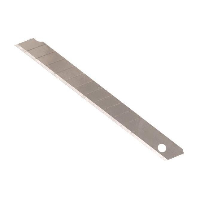 Faithfull Snap-Off Blades 9mm (Pack of 10)