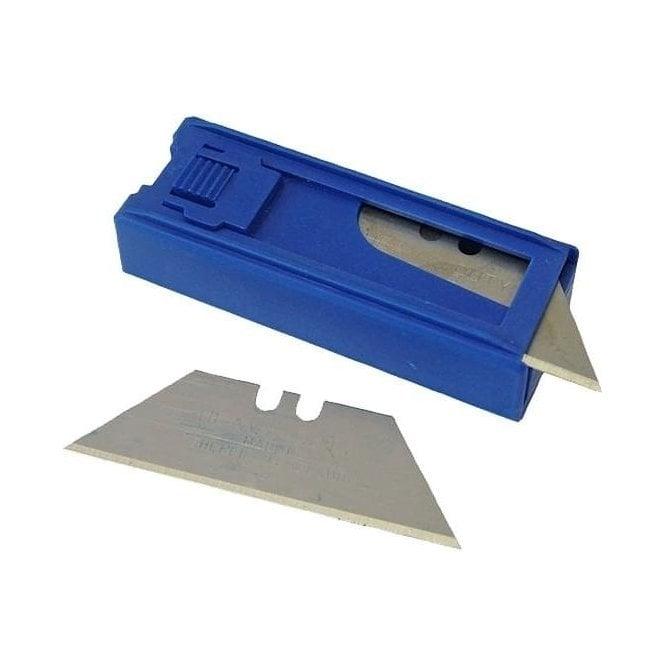 Faithfull SK5 Heavy-Duty Trimming Knife Blades (Dispenser of 10)