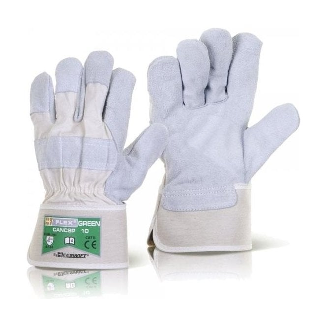 Flex Green Canadian High Quality Rigger Gloves