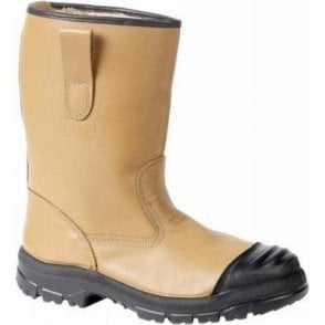 Goliath Lined Rigger Boot with Scuff Cap