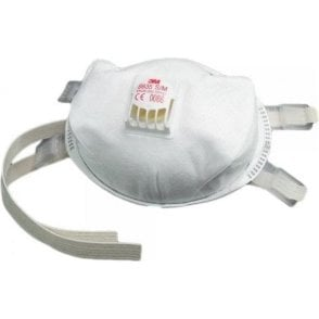 3M 8835 Valved Disposable Respirators (Box of 5)