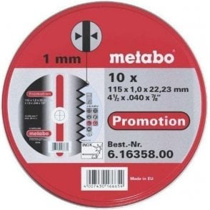 Metabo Stainless Steel Blades (Tin of 10)