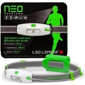 LED Lenser NEO Head Torch (Neon Green)