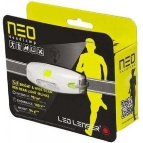 LED Lenser NEO Head Torch (Neon Yellow)