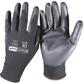 Blackrock PU Coated Lightweight Gripper Gloves