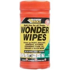 Everbuild Multi-Use Wonder Wipes (Tub of 100)