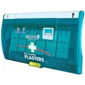 Pull and Apply Plaster Dispenser with 60 Washproof Plasters