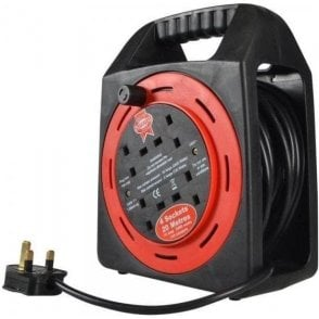 Faithfull Cable Reel 20m 240V