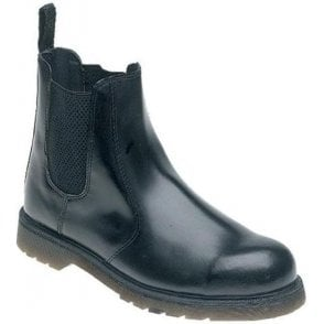 Toesavers Leather Air Cushion Safety Dealer Boot (AC03)