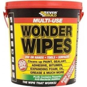 Everbuild Multi-Use Wonder Wipes (Tub of 300)