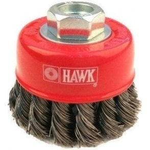 Twist Knotted Cup Brush M10 x 1.50 x 2 1/2in