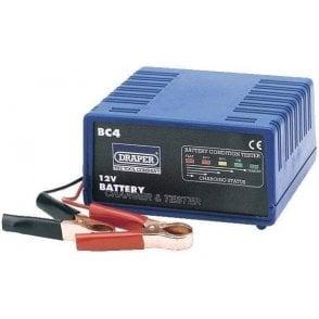 Draper Battery Charger & Tester 12V