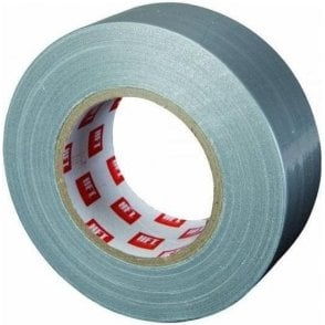 Cloth Duct Tape Silver 48mm x 50m