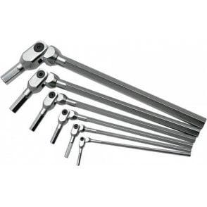 Bondhus Pivot Head Hex Wrench Set (5 Piece)