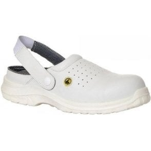 Portwest Metal Free ESD Slip On Safety Clog (FC03)