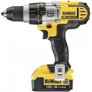 Dewalt XR Combi Drill DCD985-M2 (with Charger and 2 x 4.0Ah Batteries in Carry Case)