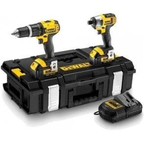 Dewalt Twin Pack Combi Drill + Impact Driver DWDCK285l2