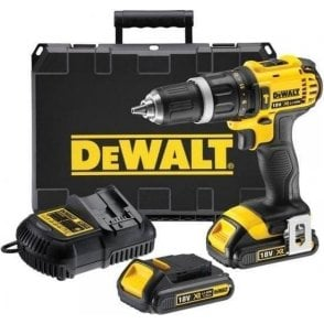 Dewalt 2 Speed XRP Combi Drill DCD785C2 (with 2 X 1.5ah Lithium-Ion Xr Batteries)