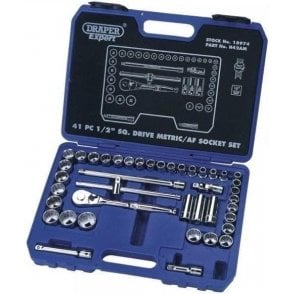 Draper Expert Combined Socket Set (41 Piece) (18974)