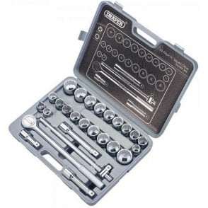 Draper Silverdrive Socket Set (26 Piece) (SD26AMA)
