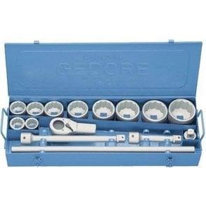 Gedore Socket Set (15 Pieces) (D21 EAU-10)