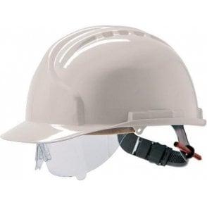 JSP MK7 Vented Safety Helmet with Retraspec