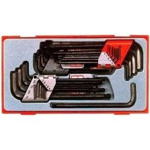 Teng Tools Hex Key Set (28 Piece)