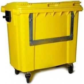Polyethylene Bin with Drop Front 1000ltr