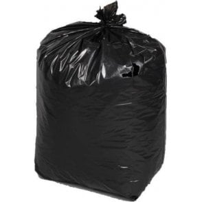 Black Bags 18-Inch x 29-Inch x 39-Inch 400G (Box of 100)