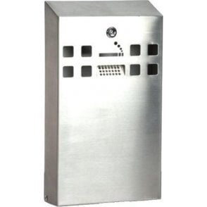 Wall Mounted Stainless Steel Smoking Bins