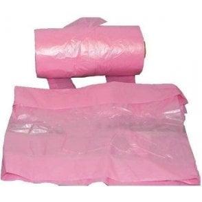 Pink Bin Bags 29-Inch x 38-Inch 250G (Box of 100)