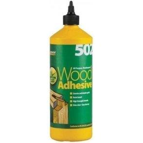 Everbuild 502 Wood Adhesive 1ltr