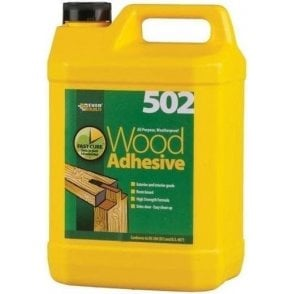 Everbuild 502 Wood Adhesive 5ltr