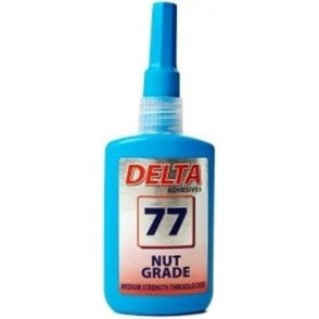 Delta Nut Grade Slow Cure Thread Lock D77 50ml
